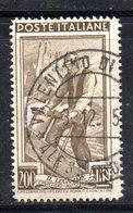 XP2873 - REPUBBLICA LAVORO , 200 Lire  Filigrana  Destra Bassa Dent. 14 X 14 - Varietà E Curiosità