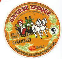 ETIQUETTE CAMEMBERT GRANDE EPOQUE FABRIQUE PAR SEVRE ET BELLE A CELLES SUR BELLE DEUX SEVRES - Cheese