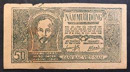 Vietnam 1948-1949 50 Dong Pick 27 LOTTO 1758 - Viêt-Nam