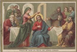 Chromos - Religion - Christ Apôtres Vierge - Parfum - Bon Point De Cinquante - Unclassified