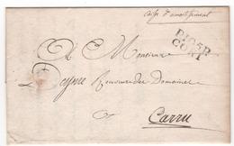 D.conquis  STURA ,,  105 CONNI PP Du 24.5.1808 - Marcophilie (Lettres)