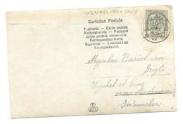 Sterstempel/cachet étoile  * WYNKEL-STE-CROIX * 1907 - 1893-1907 Wapenschild