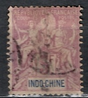 Indochine YT N° 16 Oblitéré. B/TB. A Saisir! - Indochina (1889-1945)