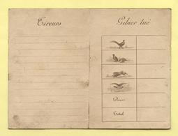 Tableau De Chasse - Domaine De Sandricourt - Oise - Vieux Papiers