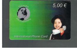 ITALIA (ITALY) - REMOTE -  SSAMIFA CARD - CHILD, GLOBE        - USED - RIF. 10971 - Schede GSM, Prepagate & Ricariche