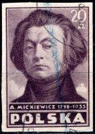 POLAND 1947 Polish Culture -20z. Mickiewicz (poet) FU - Ohne Zuordnung