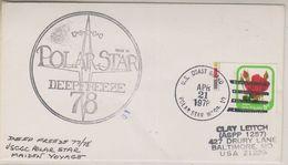 USA 1978 Polar Star Maiden Voyage / Operation Deep Freeze 77/78 Ca Apr 21 1978 Polzar Star (38466) - Poolshepen & Ijsbrekers