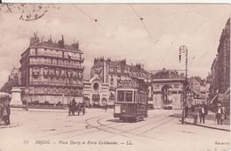 CPA - 51. DIJON Place Darcy Et Porte Guillaume - Dijon