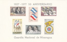 Nicaragua Hb 96 Y 97 Con Manchas - Nicaragua