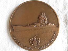 Medaille LE CUIRASSE JEAN BART Par Georges Guiraud - Francia