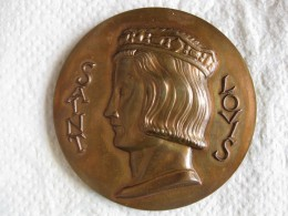 Médaille En Bronze 1978 Saint Louis, Par J.H. Coëffin - France