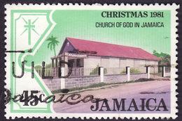 JAMAIQUE   1981  -  YT 533  - Eglise  - Oblitéré - Jamaica (1962-...)