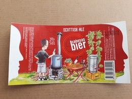 "Uruguay Etiqueta Cerveza Artesanal Cabesas Bier ""Scottish Ale"" - Beer"
