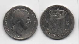 + PAYS BAS + 1/2 GULDEN 1863 + - [ 3] 1815-… : Kingdom Of The Netherlands