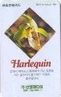 KOREA : C9208065 (W) 2000w HARLEQUIN ORCHID  ( Private Card)  MINT !! - Corée Du Sud