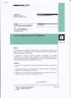 Informations Sur La Mise En Place Des Oblitérations Codées,2007, 7 Pages, 3 Scans - Stamps