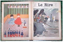 """LE RIRE -   N°308 Du 26/12/1908 - """"NOEL 1812""""dessins Par ROUBILLE, LABORDE, PETITJEAN, ISER,MARROUS,CAPY,RAY Etc... - Books, Magazines, Comics"""