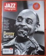 REVUE JAZZ MAGAZINE N° 439 AOUT 1994 BENNY CARTER DEBARQUEMENT TRèS RARE & BON ETAT - Music