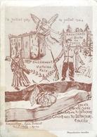 """MAQUISARDS - CPA ANTI ALLEMANDE """"LE BOCHE NE PASSERA PAS"""" -  ILLUSTRATRICE; Agnès BERRIOT - JUILLET 1944. - War 1939-45"""