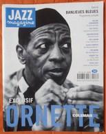 REVUE JAZZ MAGAZINE N° 446 ORNETTE COLEMAN BILL FRISELL TIM BERNE STEVE LACY TRèS RARE & BON ETAT - Music