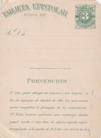 INTERO ENTIER ENTERO POSTAL UNUSED OLD URUGUAY.-TBE-BLEUP - Postal Stationery