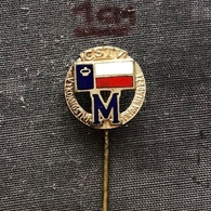 Badge (Pin) ZN006860 - Spartakiada Czechoslovakia Vykonnostní Trida Mladeze M CSTV - Athletics