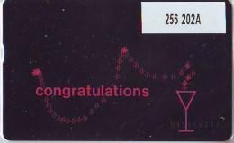 Telefoonkaart  LANDIS&GYR  NEDERLAND * RCZ.256  202a * CONGRATULATIONS  * TK *  ONGEBRUIKT * MINT - Nederland