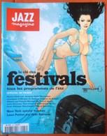 REVUE JAZZ MAGAZINE N° 482 FESTIVALS D'ETE 1998 TRèS RARE & BON ETAT - Music