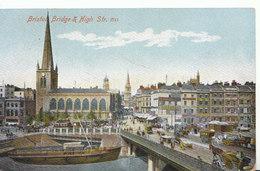 Bristol Postcard - Bridge And High Street - Ref ND1073 - Bristol