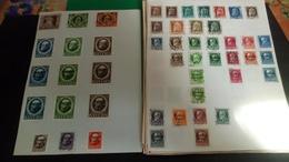 D418 LOT FEUILLES REICH + DIVERS TOUS ETATS A TRIER BELLE COTE DÉPART 10€ - Stamps