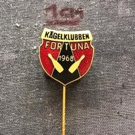 Badge (Pin) ZN006866 - Bowling Kägelklubben Fortuna 1968 - Bowling