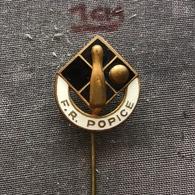 Badge (Pin) ZN006869 - Bowling Romania Popice - Bowling