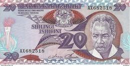 TANZANIE 20 SHILLINGS ND1986 UNC P 9 - Tanzania
