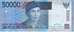 BILLETE DE INDONESIA DE 50000 RUPIAH DEL AÑO 2005   (BANKNOTE) - Indonesia