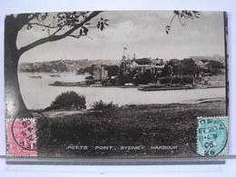 AUSTRALIE - POTTS POINT - SYDNEY HARBOUR - 1906 - Sydney