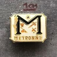 Badge (Pin) ZN006884 - Bowling France Meyronne - Bowling
