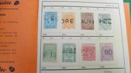 D432 LOT RESTE CARNET A CHOIX DIVERS A TRIER BELLE COTE DÉPART 3€ - Collections (en Albums)