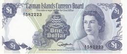 BILLETE DE LAS ISLAS CAYMAN DE 1 DOLLAR DEL AÑO 1985  (BANKNOTE) SIN CIRCULAR-UNCIRCULATED - Islas Caimán