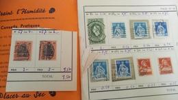 D434 LOT RESTE CARNET A CHOIX DIVERS A TRIER BELLE COTE DÉPART 3€ - Stamps