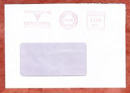 Brief, Pitney Bowes E31-0060, Fresenius Hepasteril, 100 Pfg, Bad Homburg 1989 (50297) - [7] République Fédérale