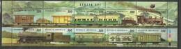 INDONESIA - MNH - Transport - Trains - History - Trains