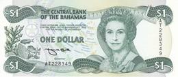 BILLETE DE BAHAMAS DE 1 DOLLAR DEL AÑO 1984  (BANKNOTE) SIN CIRCULAR-UNCIRCULATED - Bahamas