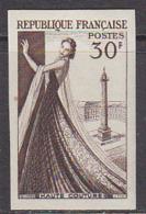 France (1955) Haute Couture.  Essai De Couleur. Yvert No 1021, Scott No 765. - Essais