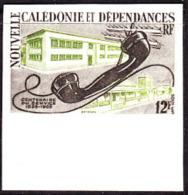 New Caledonia (1960) Telephone Receiver. Trial Color Proof.  Scott No 314, Yvert No 298. - Non Dentellati, Prove E Varietà