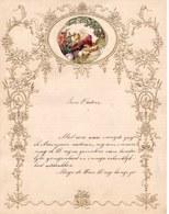 1903 LETTRE DE NOUVEL AN - NEW YEAR LETTER - NIEUWJAARSBRIEF - DOREE EN RELIEF - LOO 1905 ! DECOUPIS - Announcements