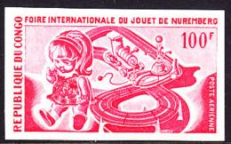 Congo (1969) Trial Color Proof.  Scott No C83, Yvert No PA85. Nuremberg Toy Fair. - Congo - Brazzaville
