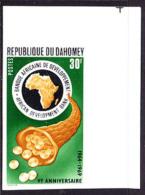 Dahomey (1969) Imperforate.  African Development Bank.  Scott No 261, Yvert No 281. - Benin - Dahomey (1960-...)