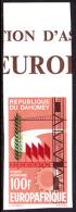 Dahomey (1966) Imperforate. Agreement Between EEC And African Union. Scott No C38, Yvert No PA42. - Benin - Dahomey (1960-...)