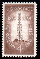 USA,1959, Scott #1134, The Petroleum Industry, MNH, VF - United States