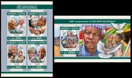 Sierra Leone 2018 Nelson Mandela - Sierra Leone (1961-...)